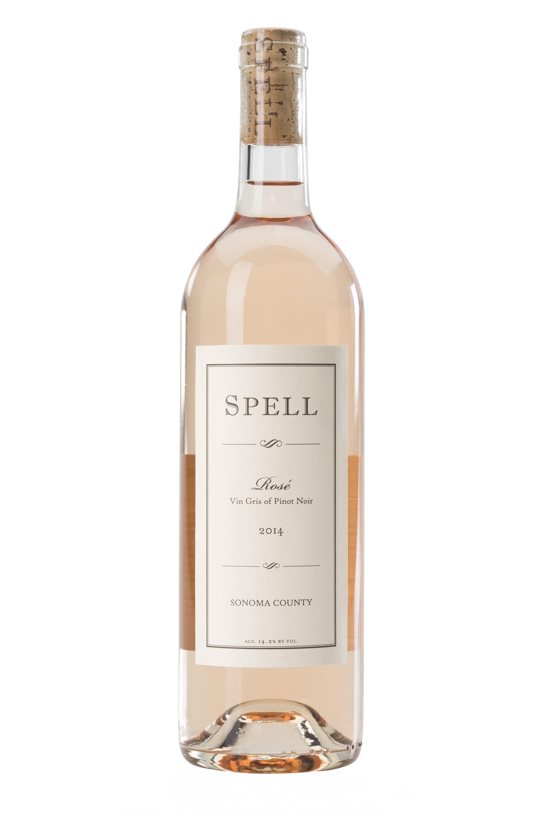 2014 Rosé Vin Gris Sonoma County   Spell Estate   Pinot Noir a2e6a2d27168