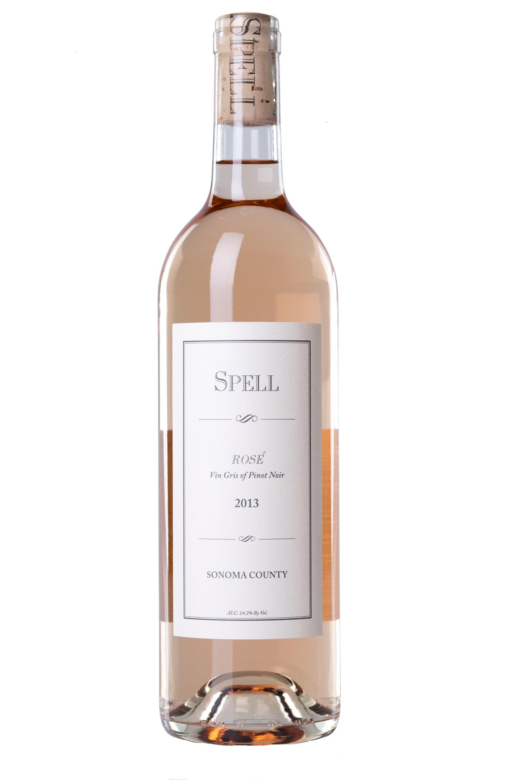 2013 Rosé Vin Gris Sonoma County   Spell Estate   Pinot Noir 6d59642cefc3