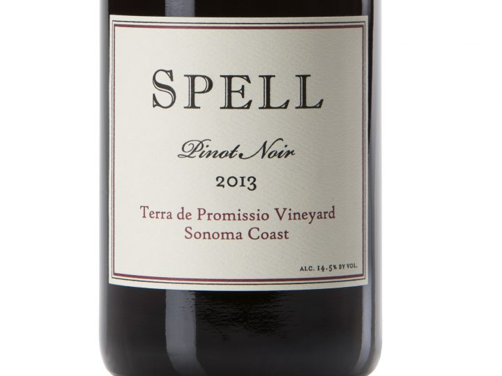 Spell Terra de Promissio Pinot Noir Gold Medal