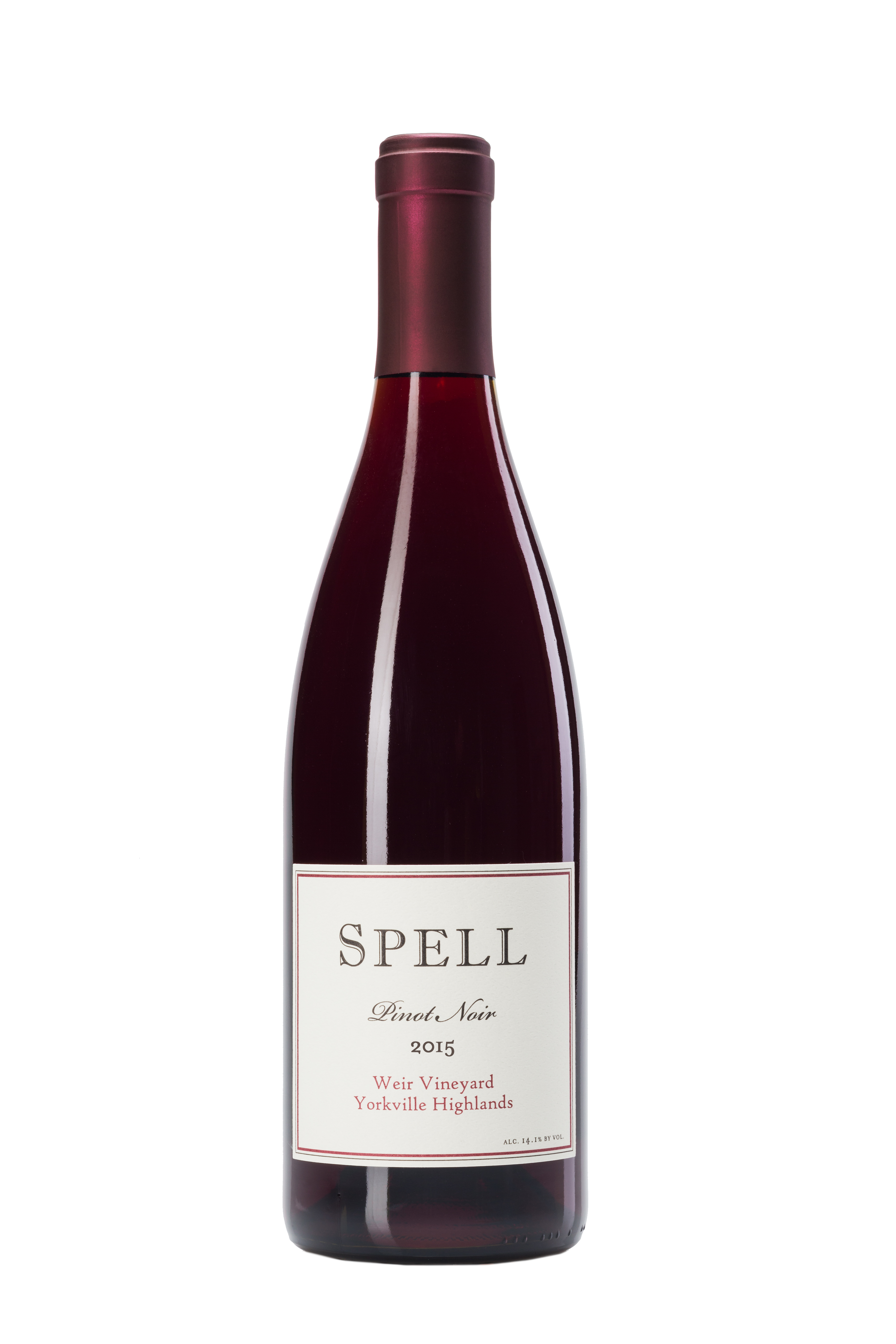 Spell Weir Vineyard 2015